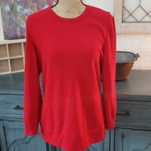 rag and bone red sweater large